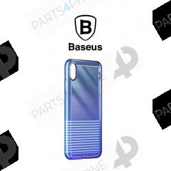 """Coques et étuis-iPhone X (A1901) et XS (A2097), coque Baseus Anti-Impact et Ultra Slim """"Colorful""""-"""