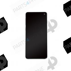S10 (SM-G973F/DS)-Galaxy S10 (SM-G973F/DS), écran original avec châssis (samsung service pack)-