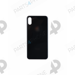 X (A1901)-iPhone X (A1901), Cache batterie en verre + autocollant-