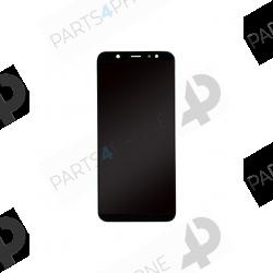 A6+(2018) (SM-A605FN)-Galaxy A6 + (2018) (SM-A605FN), écran original noir (samsung service pack)-