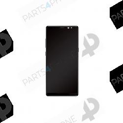 Note 8 (SM-N950F)-Galaxy Note 8 (SM-N950F), écran noir OEM avec châssis (LCD + vitre tactile assemblée)-