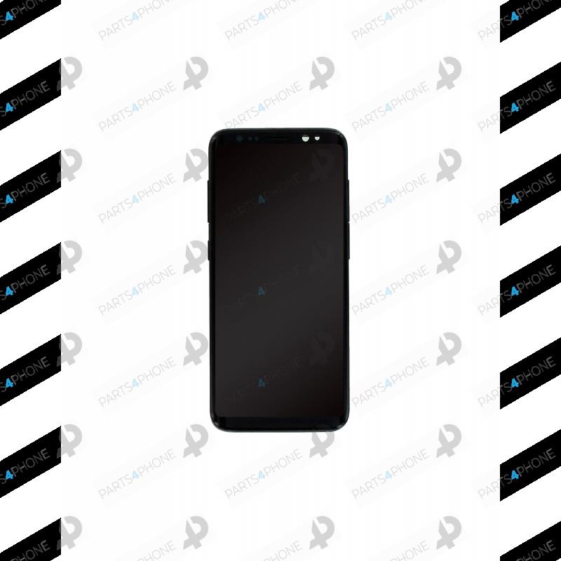 S8 (SM-G950F)-Galaxy S8 (SM-G950F) et S8 Duos (SM-G950FD), écran OEM avec châssis (LCD + vitre tactile assemblée)-