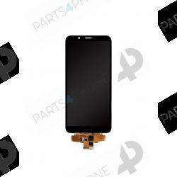 Y7 (2018) (H1711), (TRT-LX1)-Huawei Y7 (2018) (H1711), (TRT-LX1), Ecran noir original (LCD + vitre tactile assemblée)-