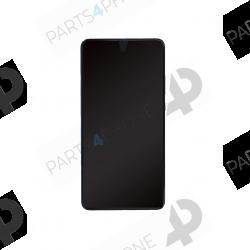 20 X (EVR-L29)-Mate 20X (EVR-l29), écran bleu original avec châssis (LCD + vitre tactile assemblée + batterie)-