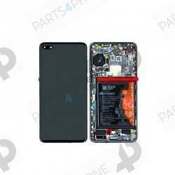 P40 (ANA-NX9)-Huawei P40 (ANA-NX9), Ecran (LCD + vitre tactile assemblée + chassis)-