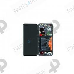 P40 Pro (ELS-NX9)-Huawei P40 Pro (ELS-NX9), Ecran (LCD + vitre tactile assemblée + châssis)-