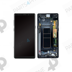 Note 9 (SM-N960F)-Galaxy Note 9 (SM-N960F), écran original avec châssis (samsung service pack)-