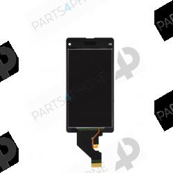 Z1 Compact (D5503)-Sony Xperia Z1 Compact (D5503), écran noir (LCD + vitre tactile assemblée)-